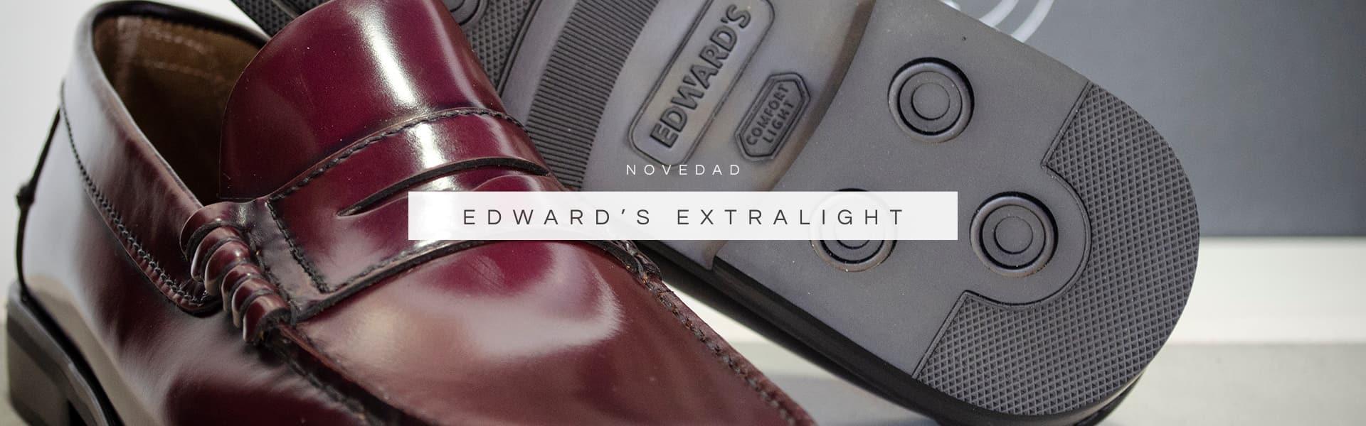 Zapatos Edward's con suela Extralight